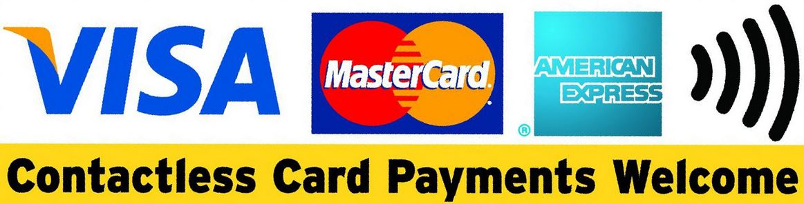 Home - Card payments welcome