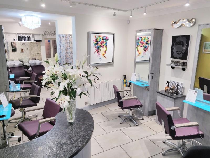 Hair Salon in Tettenhall - Inside Cabelo hair salon in Limes Road, Tettenhall